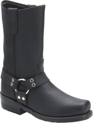 Men's Double H Boot 10 Inch Harness - Black