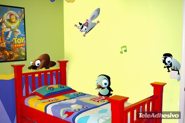 Kinderzimmer Wandtattoo Squirrel