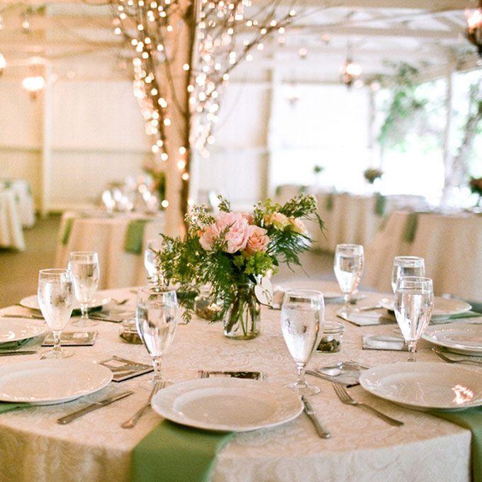 17 best ideas about romantic wedding receptions on for Wedding reception ideas for spring