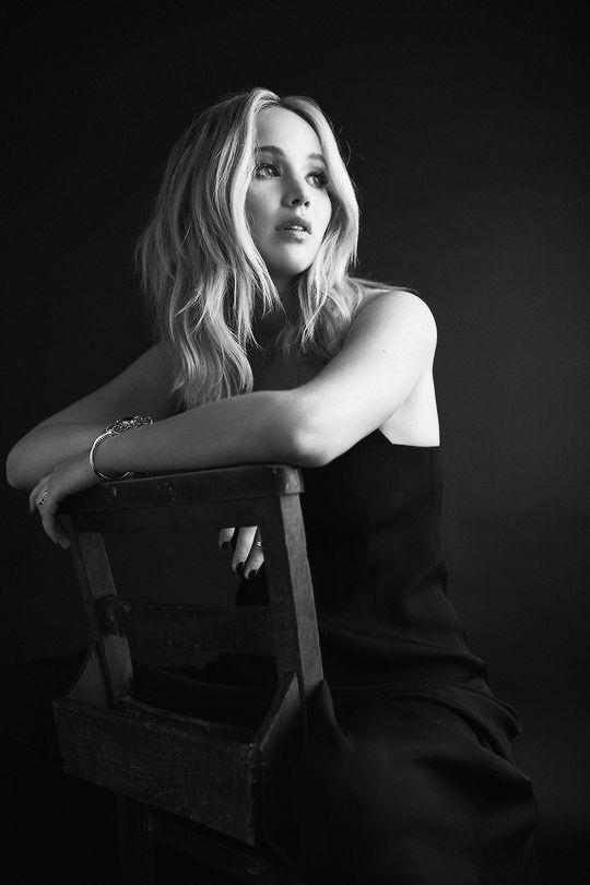 Jennifer Lawrence by Billy Kidd