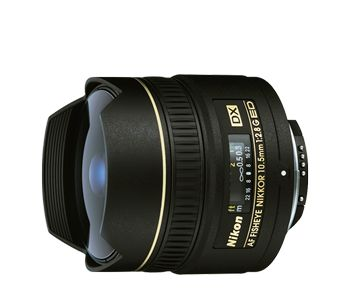 AF DX Fisheye-Nikkor 10.5mm f/2.8G ED - £549.00