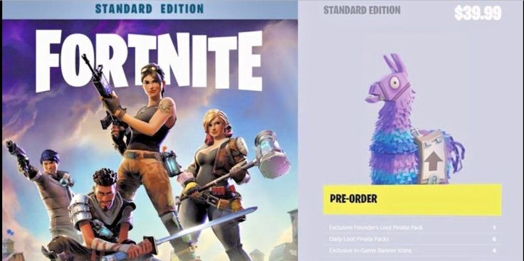 FORTNITE STANDARD EDITION PACK CD-KEY PC/Ps4 (SAVE THE WORLD)
