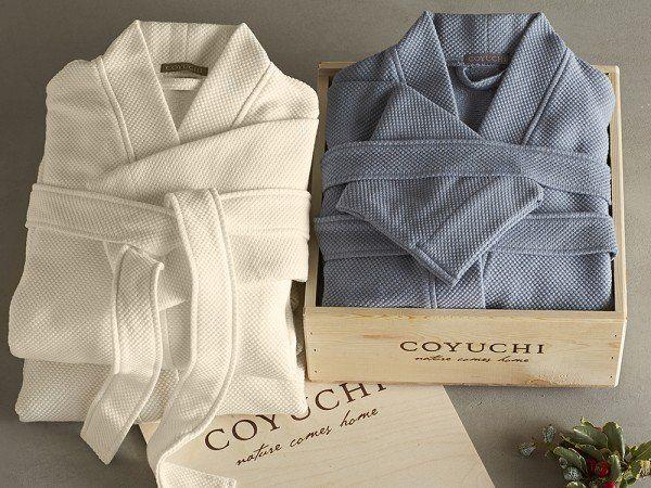 Organic Cotton Bathrobe by Coyuchi