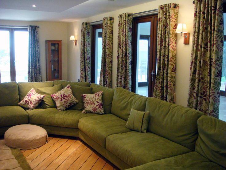 Wrap Around Sofa With Angled Corner