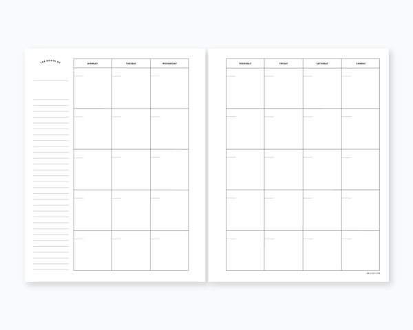 Weekly Undated Calendar Template : Pinterest discover and save creative ideas