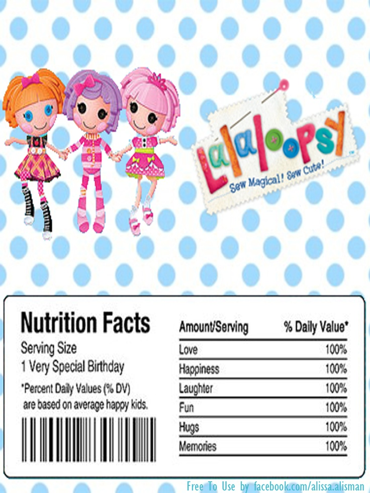 110 best Lalaloopsy Birthday Printables images on Pinterest ...