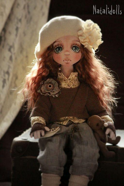 Мишель. Кукла от Natalidolls (Наталья Подкидышева)