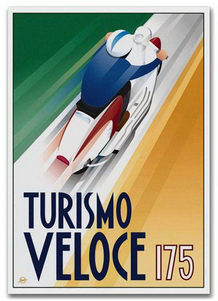 Turismo Veloce 175 - Lambretta TV175 poster