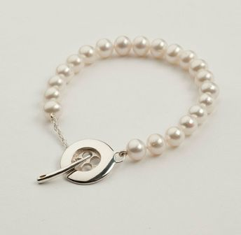 Button & Co - Freshwater Pearl Bracelet