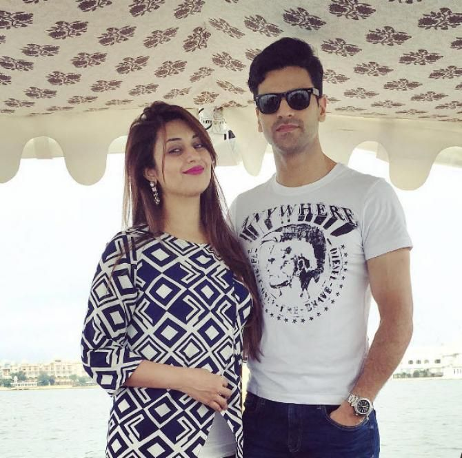 Adorable Pictures Of Newlyweds, Mr. & Mrs. Vivek Dahiya On A Romantic…