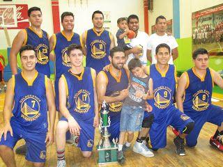 Old Boys campeones de Primera Fuerza en la Liga Dominical de Basquetbol en Ags ~ Ags Sports