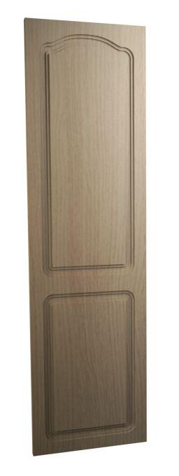 Georgina 60/40 Split Replacement Wardrobe Door vinyl Natural Oak