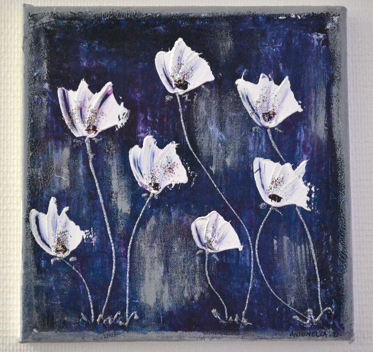 1000 ideas about tableau abstrait moderne on pinterest artwork peinture m - Peinture tableau gris ...