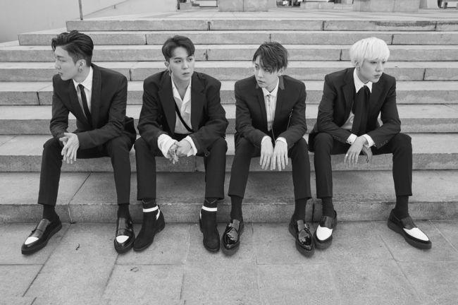 WINNER - They all look amazing but Seunghoon's luscious rapper hair as well... God it makes me we- um... weak. Yeah. Weak.
