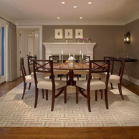 41 best images about dining room on pinterest sisal rugs for Neutral dining room colors