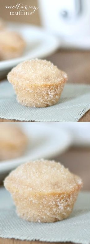 Just one bite and you'll be hooked on these melt-in-your-mouth cinnamon sugar muffins! They're quick, easy and always a crowd pleaser!