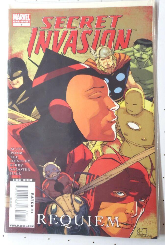 Secret Invasion Requiem One-Shot Comic Book Marvel
