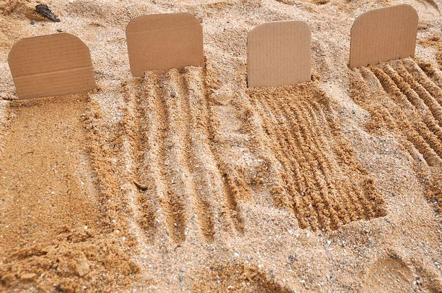 Sand Combs. I liked this because children can draw in the sandbox this way. There are many different forms of drawing then just on a piece of paper with a pen. Children may feel more relaxed doing drawings this way and they can erase it and continue doing more and more art without using paper.
