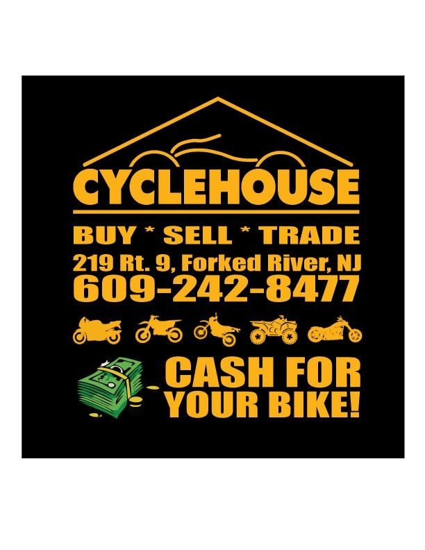CyclehouseNJ Buys Used Motorcycles NJ | Used Motorcycles New Jersey | Cyclehouse | Buy - Sell - Trade. 609 242 8477