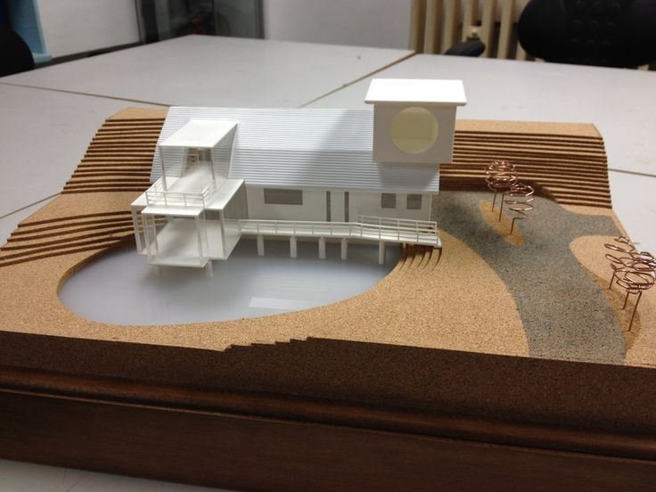Architectural Model By Mrneon Deviantart Com On