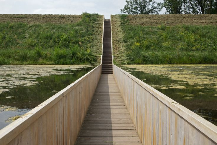Sunken bridge at Fort de Roovere - Cerca con Google
