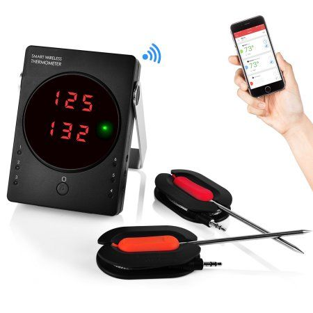 NutriChef BT Cordless BBQ Thermometer System