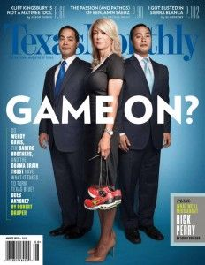 A couple of white-hating San Antonio marxists and a Rhode Island abortion lover...What the hell is going on in our great state of Texas?