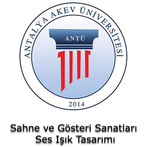 Antalya Akev Üniversitesi - Sahne ve Gösteri Sanatları Ses Işık Tasarımı   Öğrenci Yurdu Arama Platformu