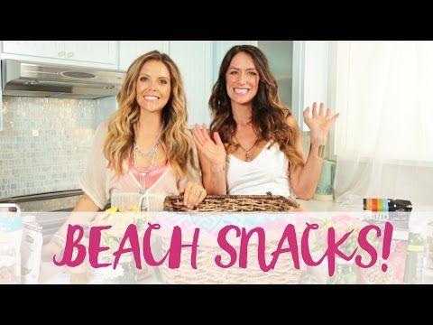 Healthy Beach Snacks!! - YouTube
