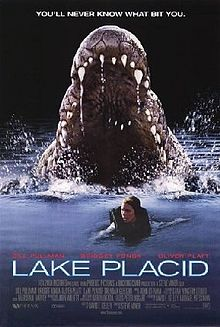 Lake Placid is a 1999 American monster movie with elements of comedy, horror, romance film, and the buddy genre. It was written and produced by David E. Kelley, directed by Steve Miner, and stars Bill Pullman, Bridget Fonda, Brendan Gleeson, Oliver Platt, Betty White, Meredith Salenger, and Mariska Hargitay.