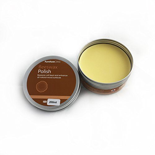 Beeswax Polish for Wood & Furniture | 200ml of Natural Wax to use on all Wood Types and Colours - Oak Wood, Teak Wood, Dark and light wood - Protect and Enhance the Shine, Easy to Apply #Beeswax #Polish #Wood #Furniture #Natural #Types #Colours #Wood, #Teak #Dark #light #wood #Protect #Enhance #Shine, #Easy #Apply