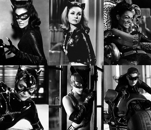 Catwoman - Lee Meriwether, Julie Newmar, Eartha Kitt, Michelle Pfeiffer, Halle Berry, Anne Hathaway