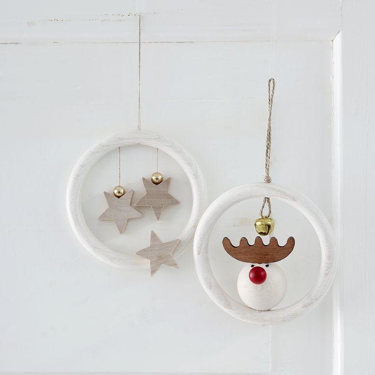 Aarikka - Christmas : Kurkistus door/window decoration