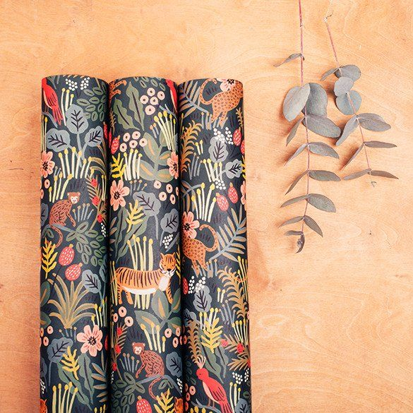 """Rifle Paper Co. """"Jungle"""" Wrapping Paper"""