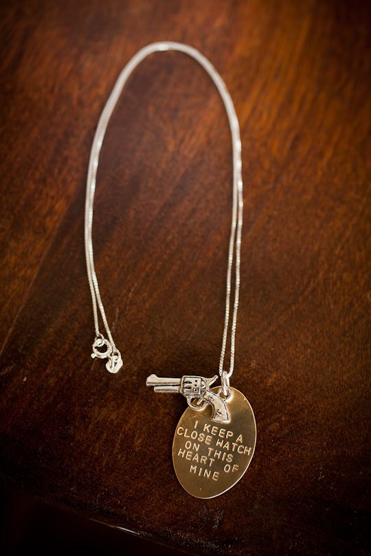Get your Johnny Cash on. $40.  http://www.bourbonandboots.com/store/products/johnny-cash-necklace/#