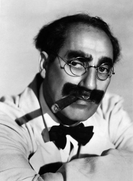 15 Best Iconic Mustaches - Oddee.com (cool mustaches, great mustaches).  Groucho Marx
