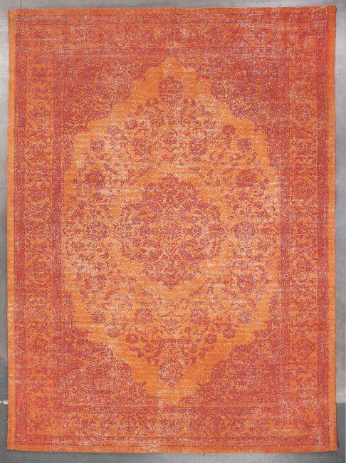 TRINITY CREATIONS • Mandarijn • Oranje • Moderne tapijten • Online tapijten