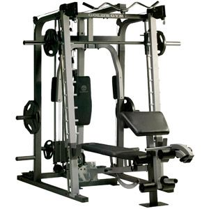 golds gym platinum rack and bench