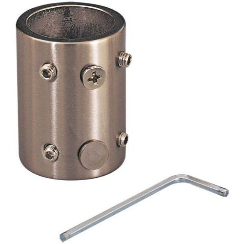 Downrod Coupler Length Extender for High Ceilings Finish: Galvanized Can be used in Indoor locations. 3/4 Interior Diameter.  #Minka_Aire #Home_Improvement