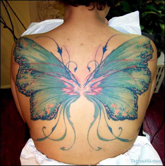 Fairy Wing Tattoo Designs   Pin Fairy Wing Tattoos on Pinterest