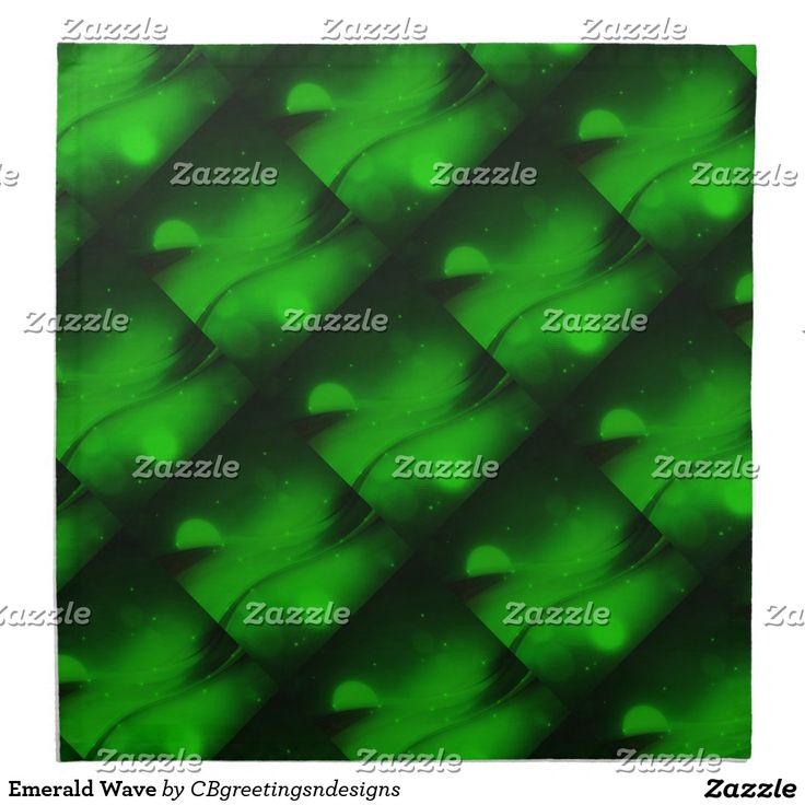 Emerald Wave Cloth Napkin