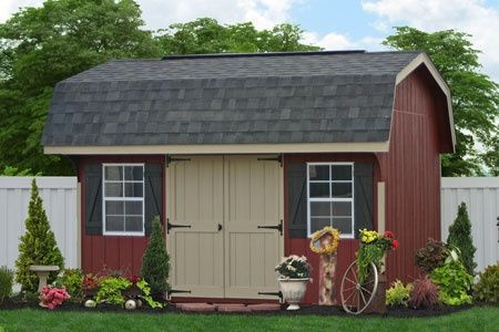 1000 Images About Garden And Tool Sheds On Pinterest