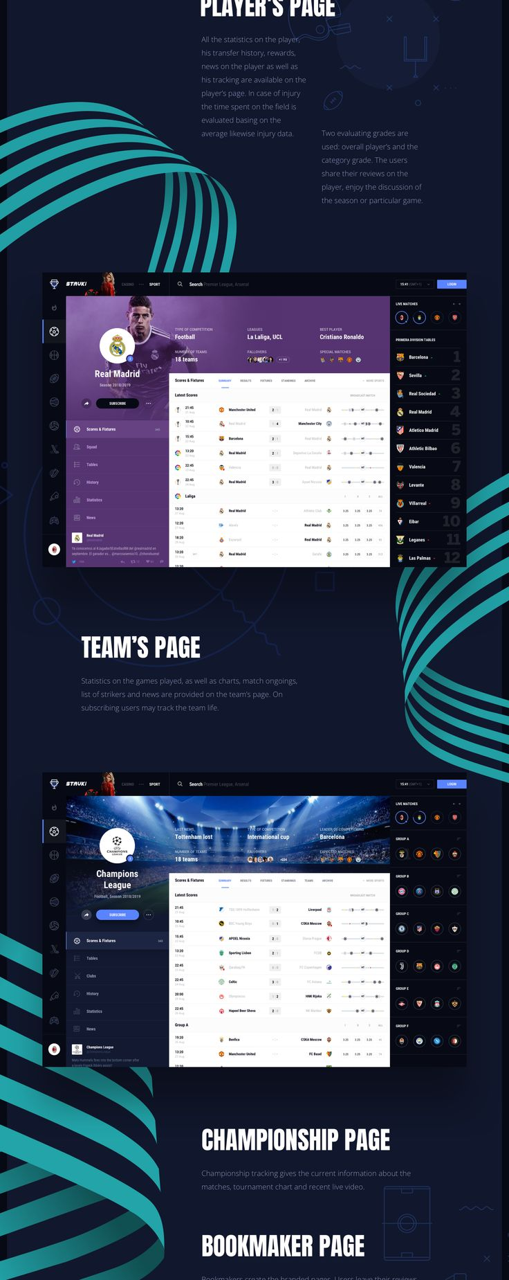 "Check out this @Behance project: ""Stavki – Sport Bets Analytics"" https://www.behance.net/gallery/57445769/Stavki-Sport-Bets-Analytics"