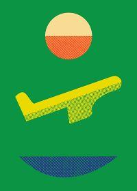 Artist : Matthew Korbel Bowers #green #art #graphic