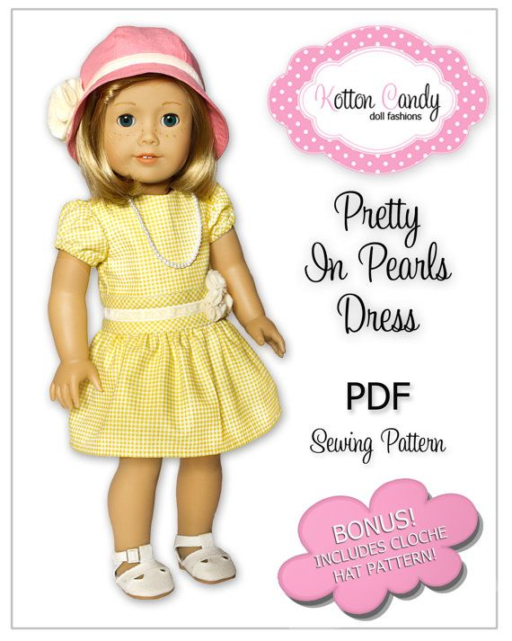 27 best Doll clothes patterns (sewing tips and reviews) images on ...