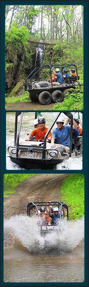 Amphibious Bear Crawler Tour | Sevierville Zipline | Gatlinburg Zipline | Pigeon Forge Zipline