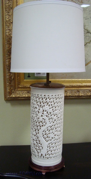 Vintage White Ginger Jar Lamp For The Home Pinterest And Lights