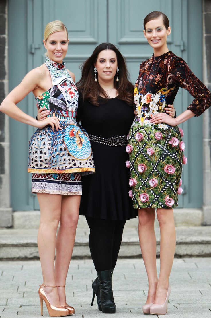 Mary Katrantzou, often referred to, as the 'Print Princess'...soo.. 3D dresses
