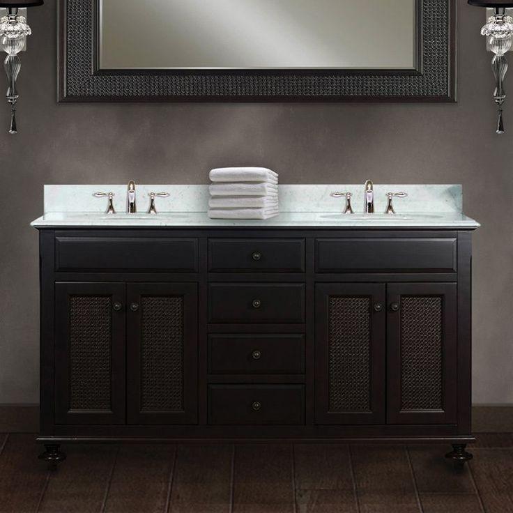 Constructed Of 100 Percent Hardwood, This Beautiful Dual Sink Bathroom  Vanity Set Is Designed