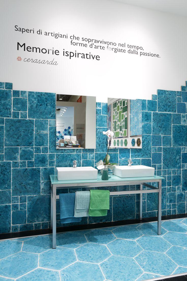 Cersaie 2015 - Stand SerenissimaCir #Cersaie2015 #SerenissimaCir #Tiles #Italia #News #Style #Cerasarda #CottoReverso